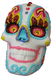 Decorated Sugar Skull Art