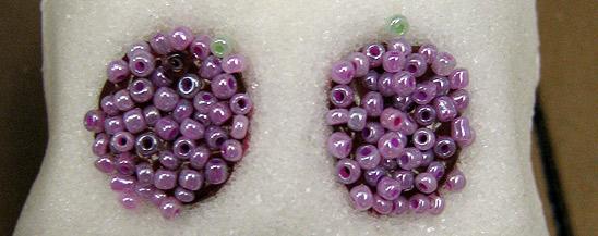 Beads in Sugar Skull Eyes