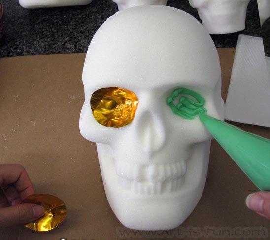 Decorate Sugar Skull Eyes