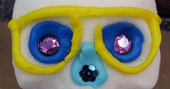 Sugar Skull Glasses Decorations