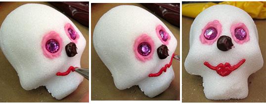 Sugar Skull Icing Lips Ideas