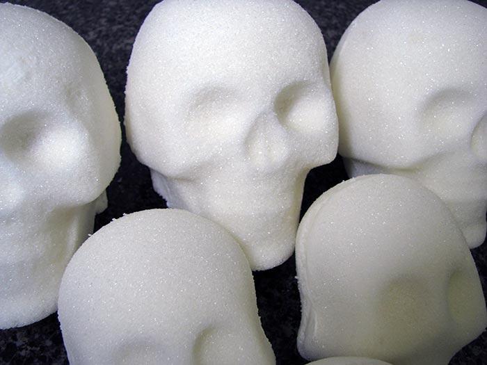 Blank Mexican Sugar Skulls