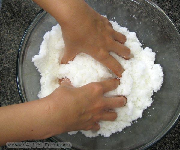 Making Large Sugar Skull Mix