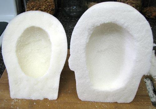 Mexican Sugar Skulls Scooped