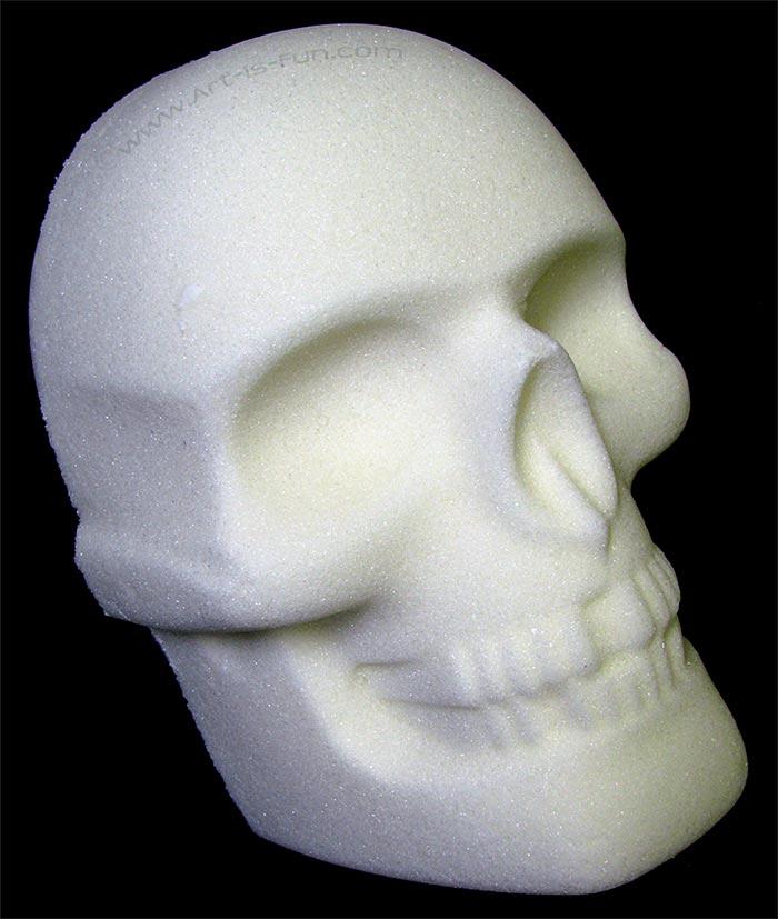 Making Life Size Sugar Skulls