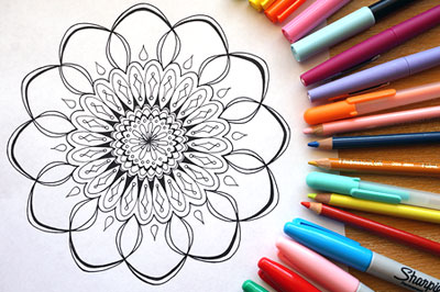 Coloring Printable E Books Published Adult Coloring Books And A Coloring Calendar Art Is Fun
