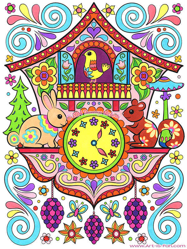Best Coloring Pages For Gel Pens