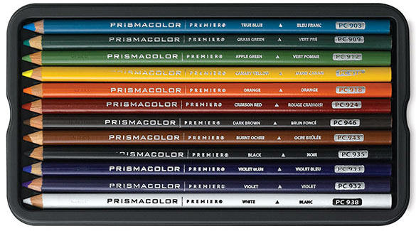 Prismacolor Colored Pencil 12-piece Set