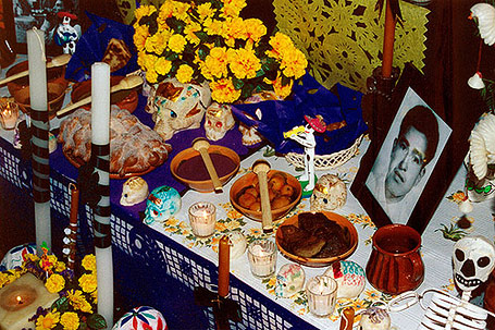 Day of the Dead altar Photo credit: Roberto Robles