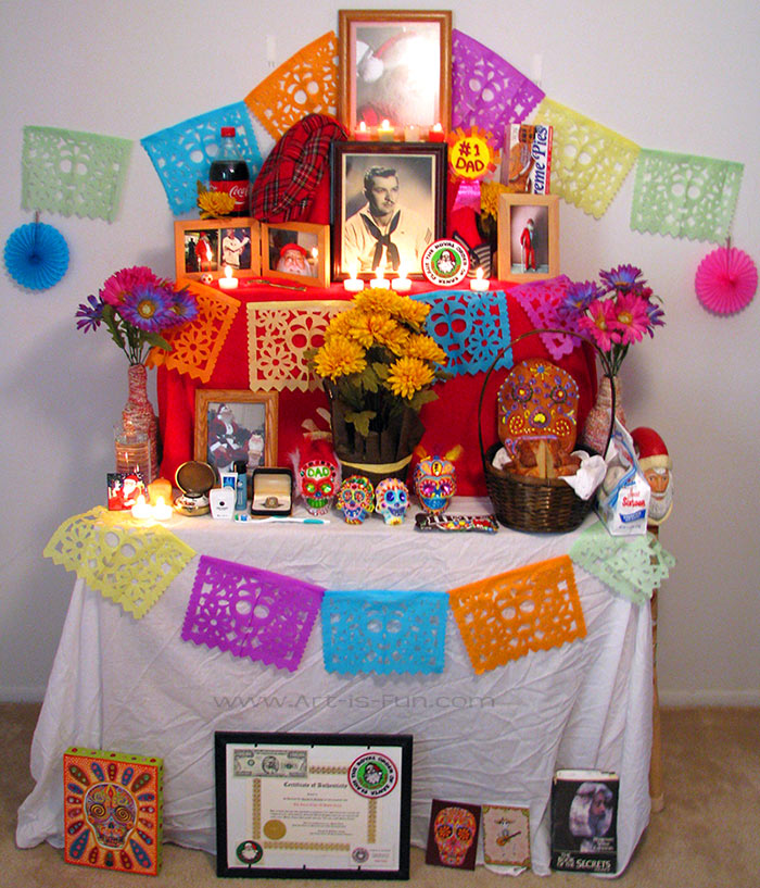 Dia De Los Muertos Altar How To Build An Altar For The