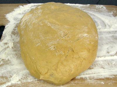 Dough Floured Board for Pan de Puerto