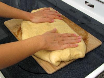 Pushing Down the Dough