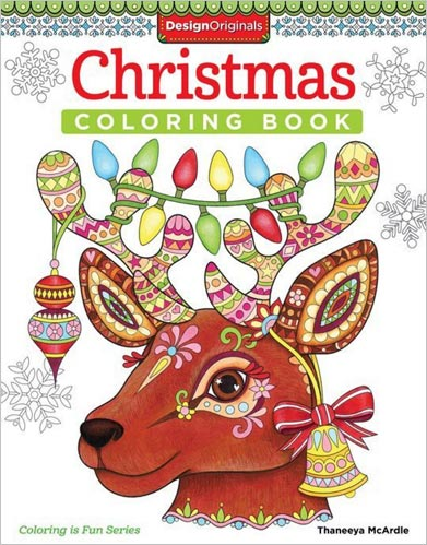 Christmas Coloring Book by Thaneeya McArdle