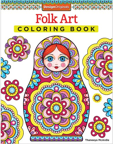 Coloring Books by Thaneeya McArdle for Adults and Kids, Available ...