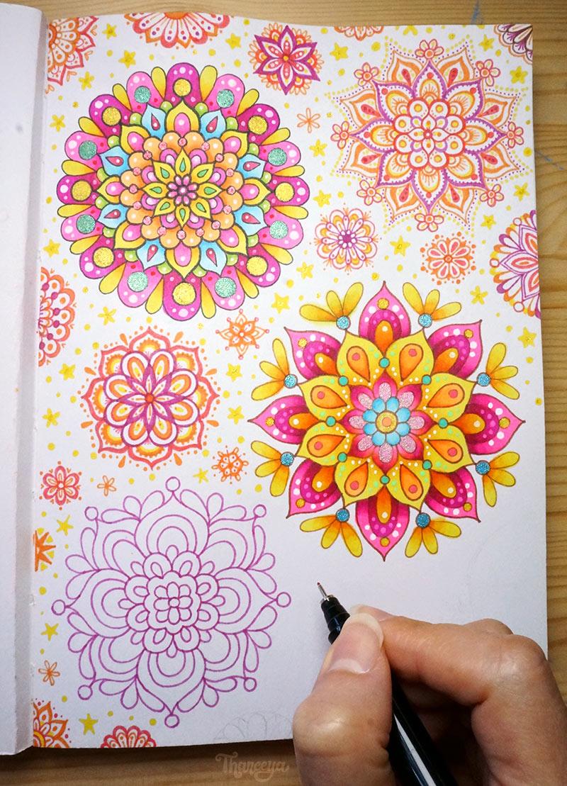 Mandala Doodles by Thaneeya McArdle