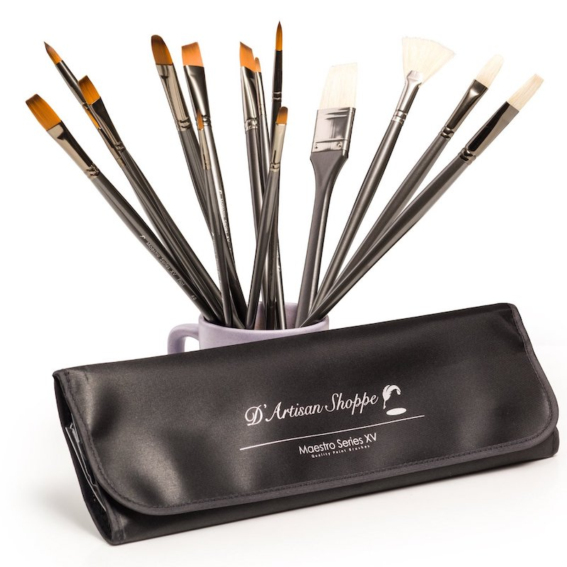 Maestro Series XV Paint Brush Set