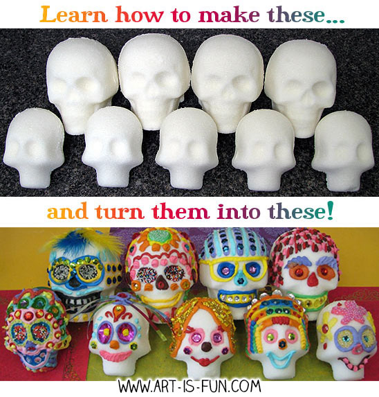 Learn how to make sugar skulls!