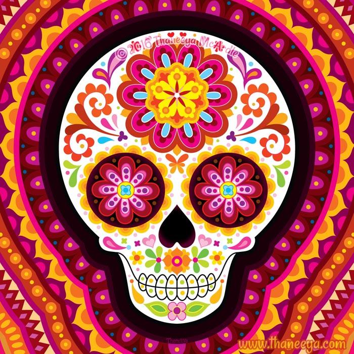 Mesmerize Sugar Skull by Thaneeya McArdle