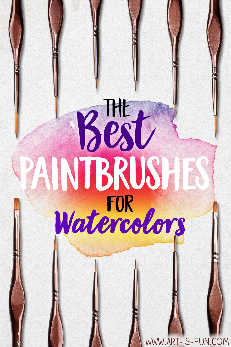 Detailed guide to buying the best paintbrushes for watercolors