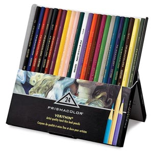 prismacolor verithin彩色铅笔
