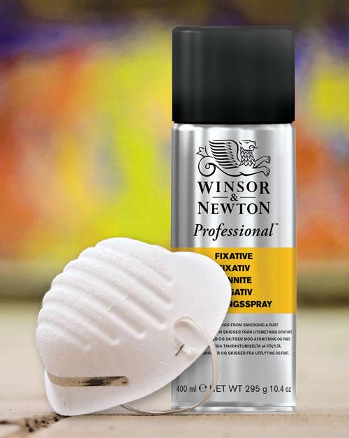 Winsor和牛顿定影剂