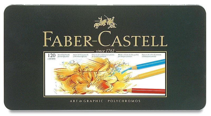 Faber-Castell Polychromos彩色铅笔套装