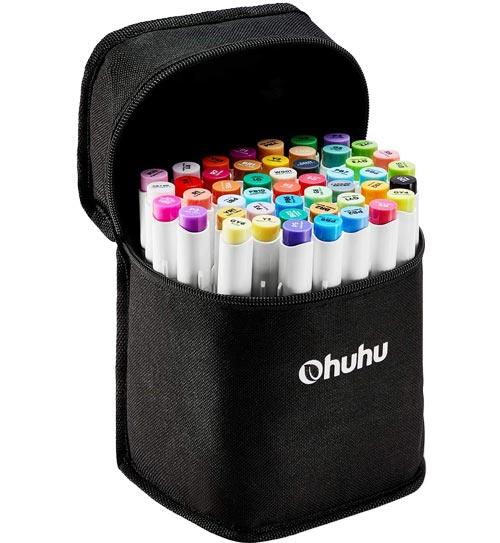 OHUHU标记48种颜色套装