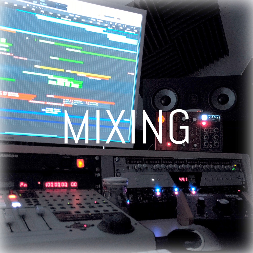 Mixing is the process of refining, polishing, and balancing your recorded tracks into a cohesive, professional sounding mix. Using Logic Pro X, and a combination of plugin and hardware processing, I create powerful, clear, and dynamic mixes that push your music to it's full potential.    I offer mixing for projects that I have recorded, but also remote sessions where you I mix the audio you have previously tracked.
