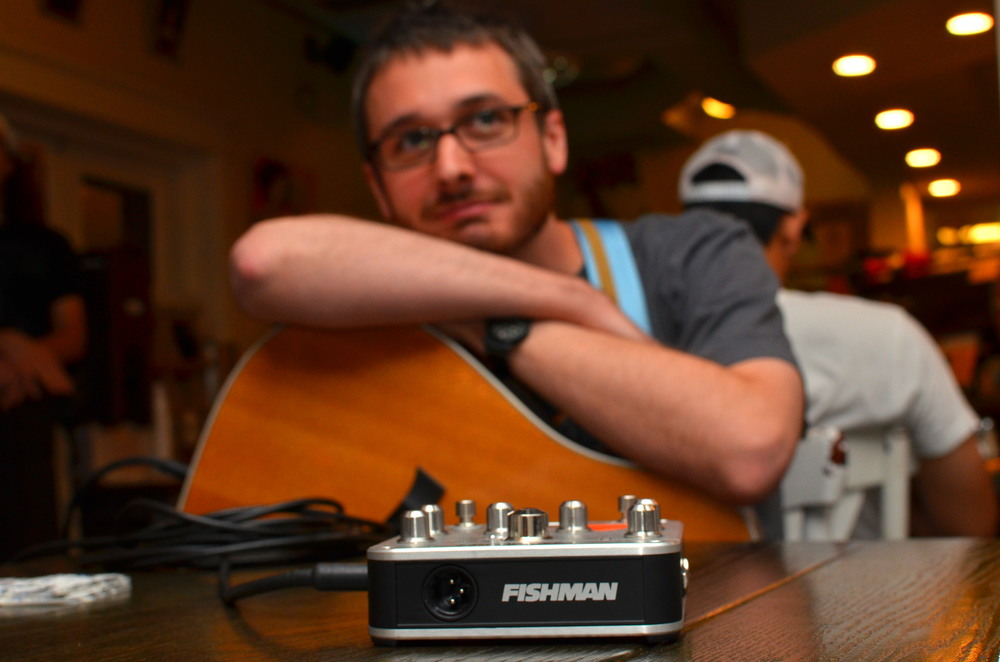 Robert Higgs of Addieville and the Fishman Preamp