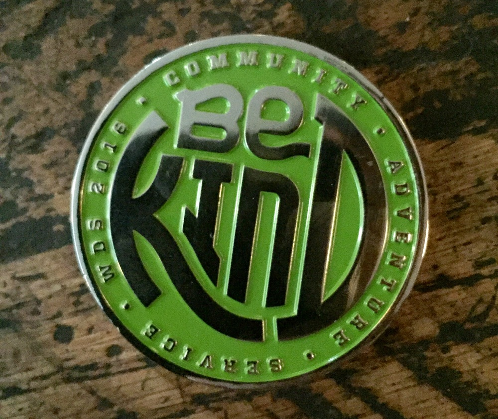Be Kind: The WDS2016 Challenge Coin
