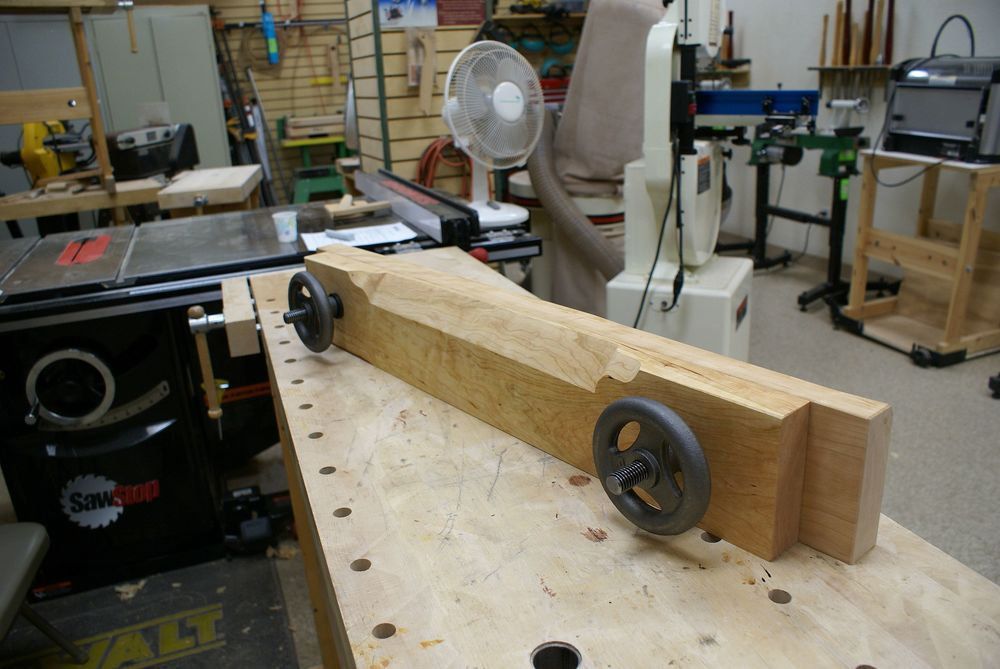A completed Moxon Vise.