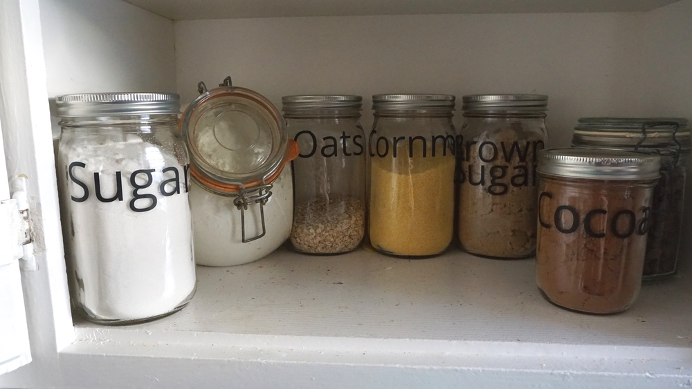 Labeled Pantry