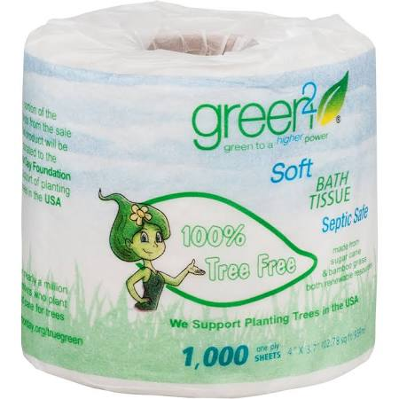 Make a better toilet paper choice. Wrapped in paper and 100% tree free. As close to zero waste as you can get!