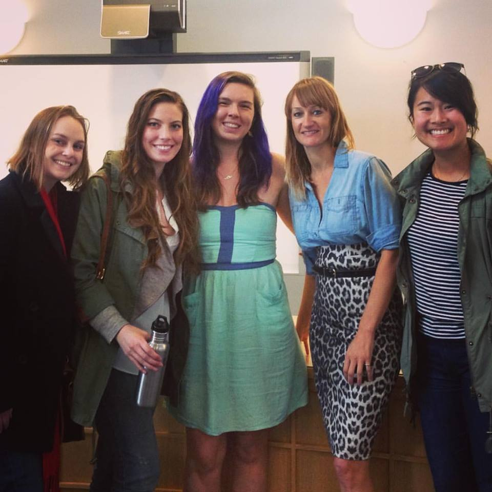 Left to Right: Danielle from No Need for Mars, me, Shauna from Zero Waste Teacher, Bea from Zero Waste Home, Christine from Packageless