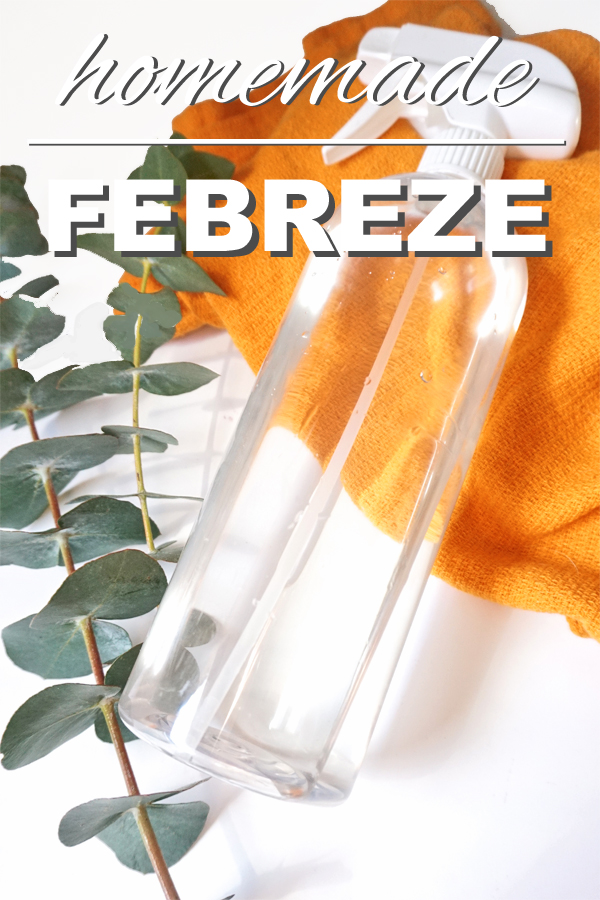 Homemade Febreze Going Zero Waste