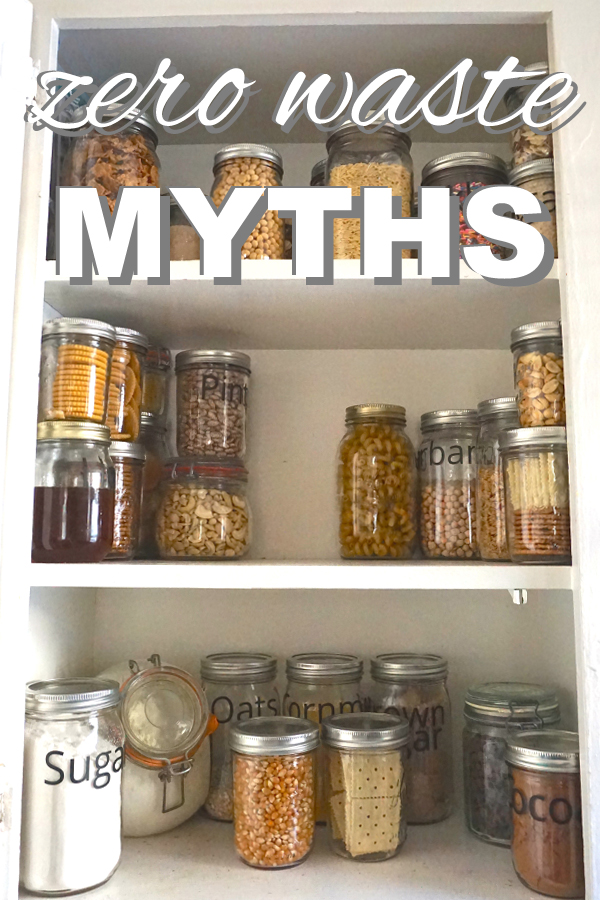 Zero waste myths from www.goingzerowaste.com