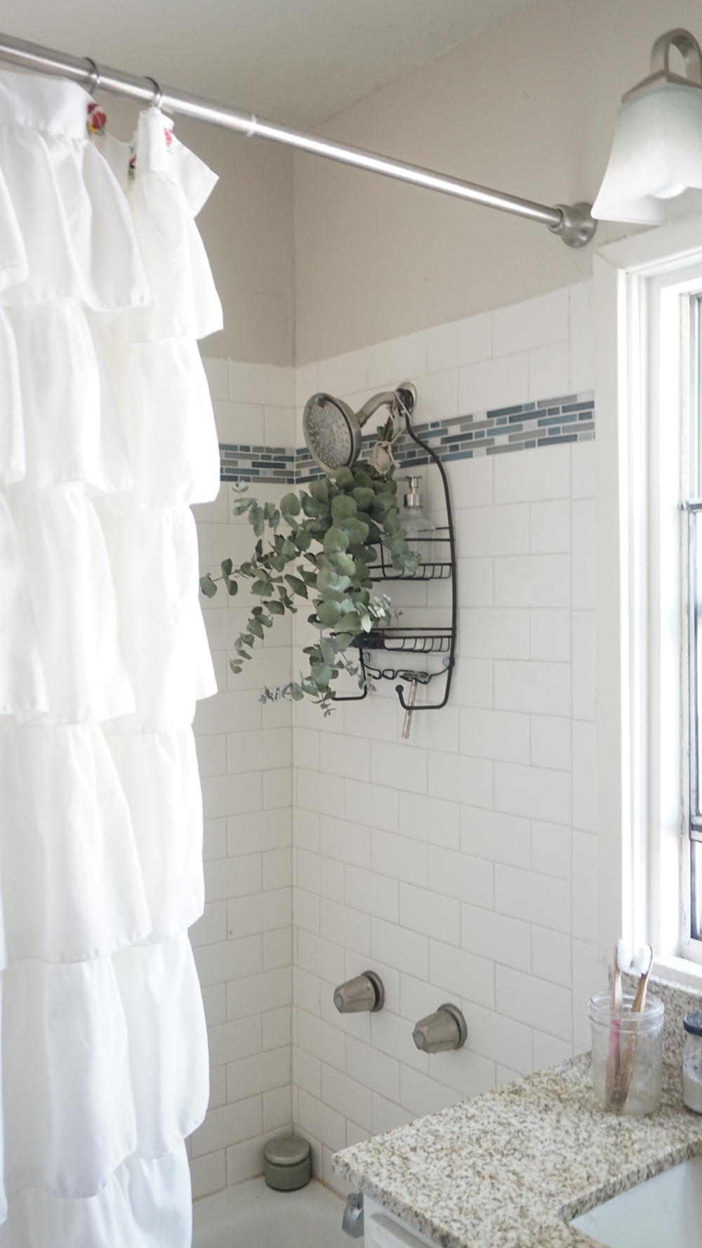 Learn the benefits of tying eucalyptus to your shower head with www.goingzerowaste.com