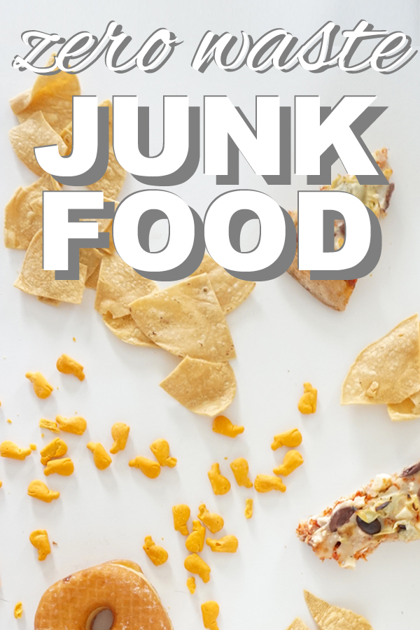 Giving up packaging does not mean giving up junk food for good. We all have to indulge occasionally - check out my top 10 favorite junk foods! www.goingzerowaste.com