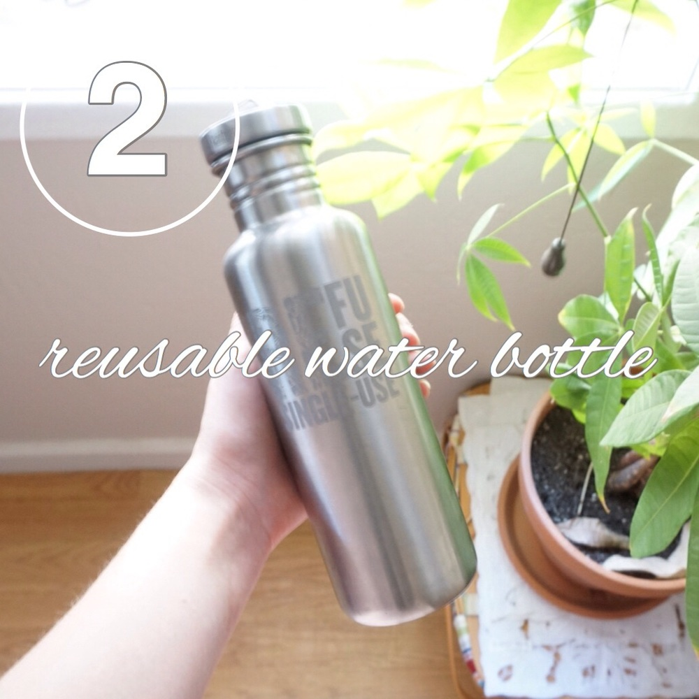 Zero Waste Challenge Day 2: Bring a reusable water bottle with you!