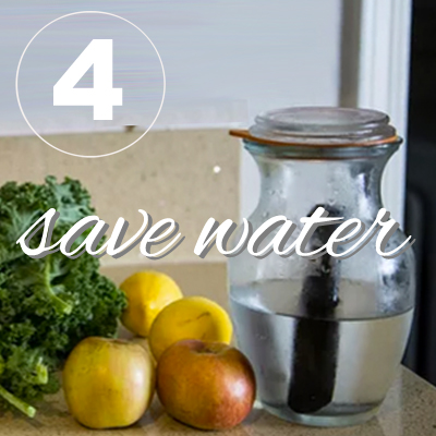 Day four of the zero waste challenge! Practice conserving water with my top 10 tips.