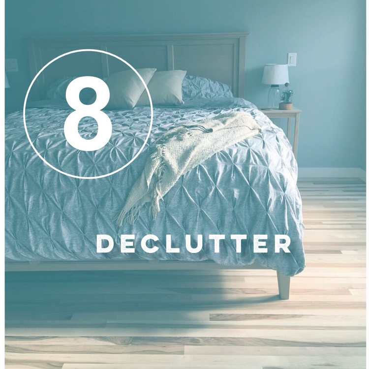Zero Waste Challenge Day 8! Declutter. Clear home; clear mind.