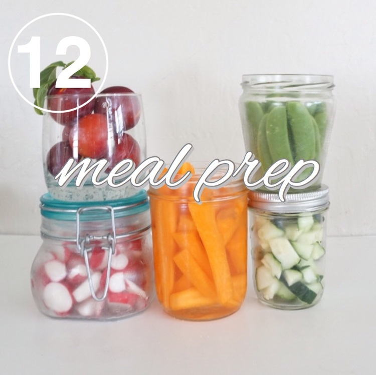Day 12 of the zero waste challenge! Food waste is the worst. Work on prepping your food ideas on www.goingzerowaste.com