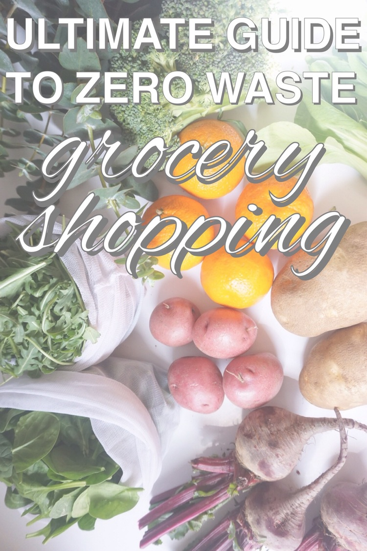 The ultimate guide to zero waste grocery shopping with www.goingzerowaste.com
