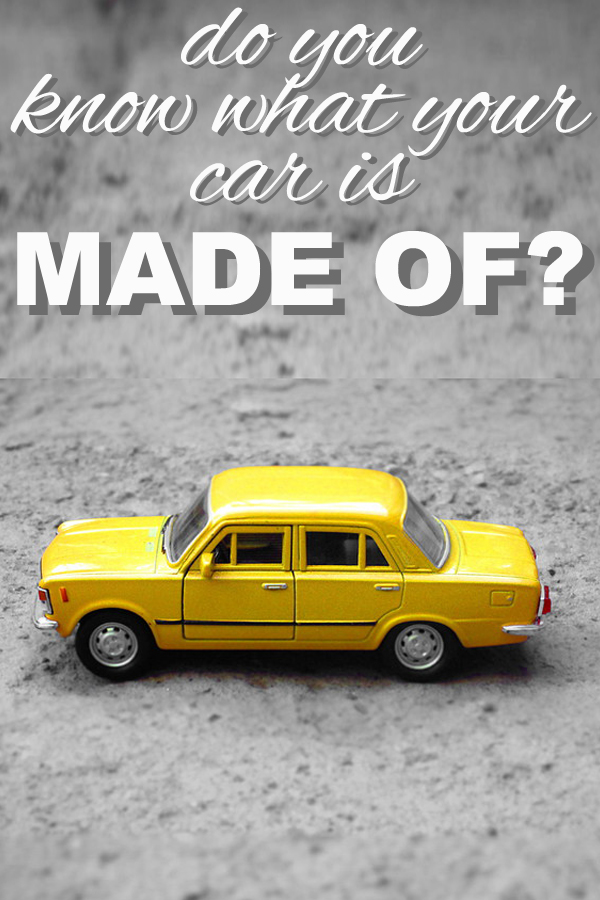 Do you know what your car is made of? Learn more from www.goingzerowaste.com