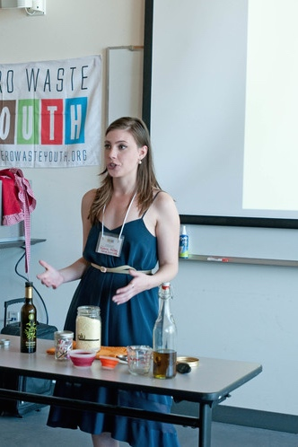 Workshops and public speaking from www.goingzerowaste.com