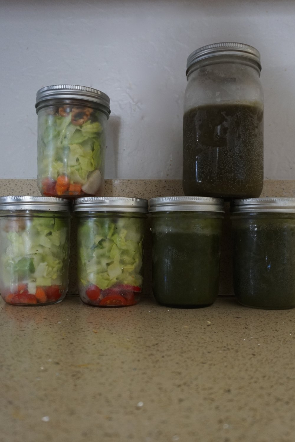 A zero waste meal prep from www.goingzerowaste.com