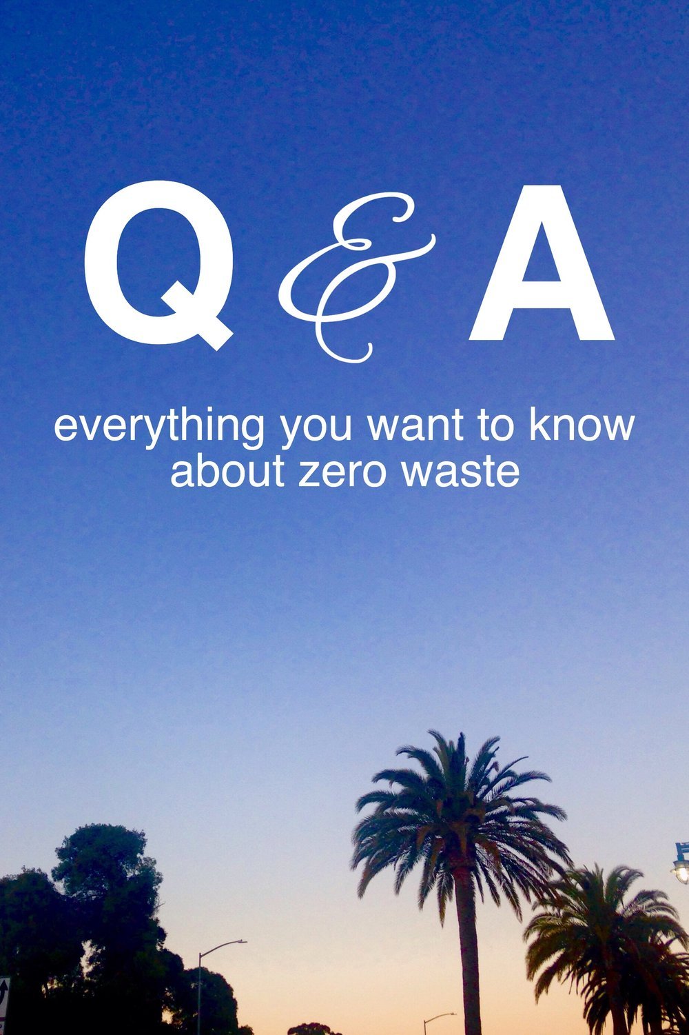Everything you want to know about zero waste! I took all of your questions and compiled a video. Let me know if there's anything else you want to know about minimalism, natural living, and sustainability.