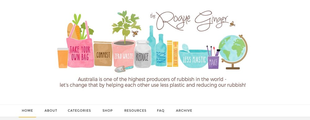My favorite zero waste blogs from www.goingzerowaste.com