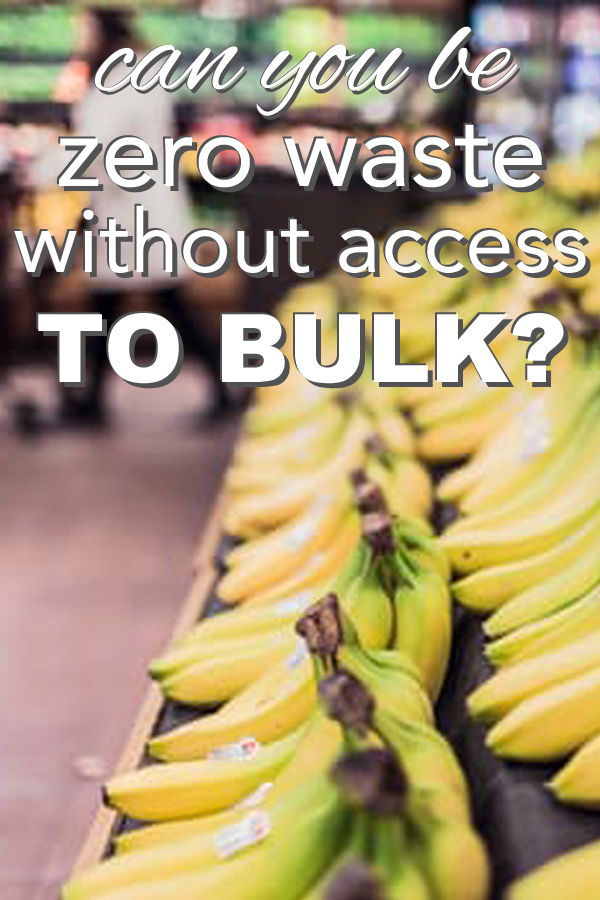 What if you want to reduce your waste, but you don't have any bulk options in your town? Learn how you can still make a huge impact, and take steps toward zero waste at your conventional grocery store from www.goingzerowaste.com