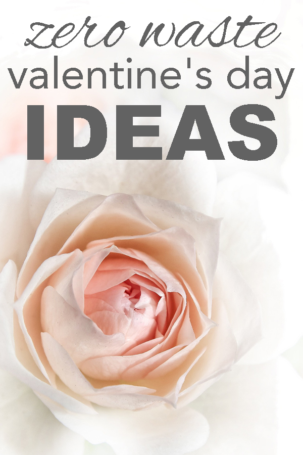 Zero waste valentines ideas from www.goingzerowaste.com